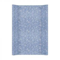 Матрас пеленальный Ceba Baby (Себа Беби) 70 см без изголовья на кровать 120*60 см Denim Style Boho blue W-200-119-592