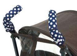 Чехлы Choopie CityGrips (Сити Грипс) на ручки для коляски-трости 367/4226 polka-dot navy