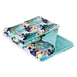 Комплект Ceba Baby (Себа Беби) одеяло 75х100 с подушкой 30х40 Tucán W-827-099-544