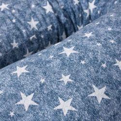 Подушка для кормления Ceba Baby Physio Mini (Себа Беби Физио Мини) Denim Style Stars blue W-702-119-588