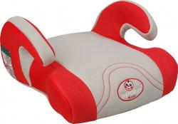 Детский авто бустер Pilsan Relax Booster (07-524) Серо-красный