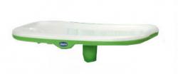 Столик к стульчику Chicco Polly New c разделителем цвет зеленый