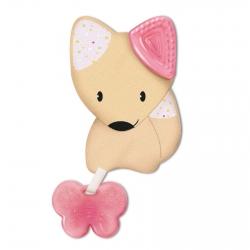 Игрушка-прорезыватель Chicco Fresh Friends 3-в-1, 4 мес+., розовый, 00002583100000