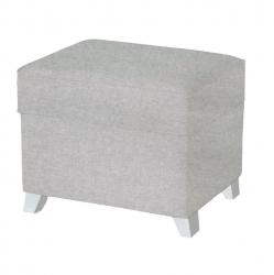 Пуф Micuna (Микуна ) для кресла-качалки Foot rest white/smooth grey