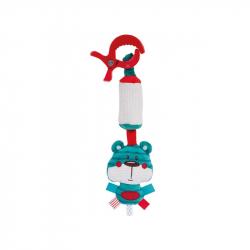 """Подвеска - мягкая игрушка с колокольчиком Canpol """"Forest Friends"""" арт. 68/043, форма: медвежонок"""