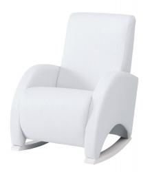 Кресло-качалка Micuna (Микуна) Wing/Confort white/white искусственная кожа