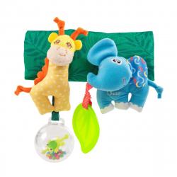 Игрушка на коляску Chicco Жираф и Слоник