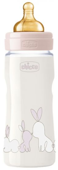 Бутылочка Chicco Original Touch (330 мл, 4м+)