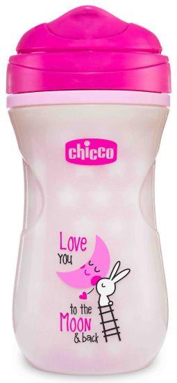 Поильник Chicco Glowing Mug, 14м+, 266 мл