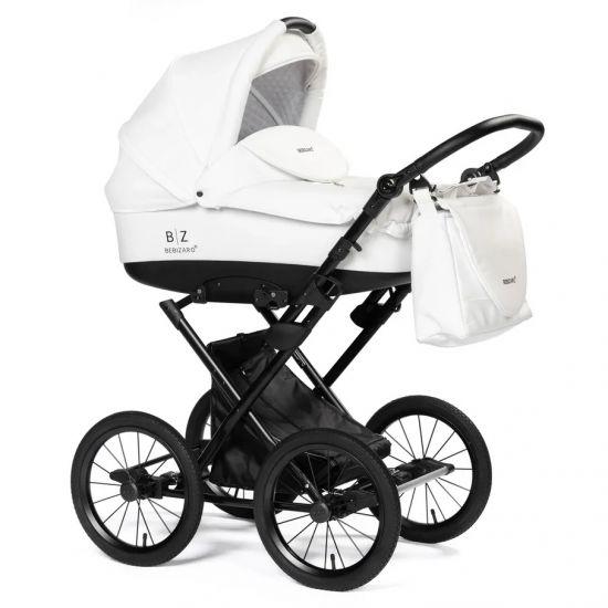 Детская коляска-люлька BEBIZARO MERCED WHITE